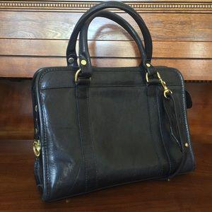 Brahmin • Vintage Leather Convertible Bag